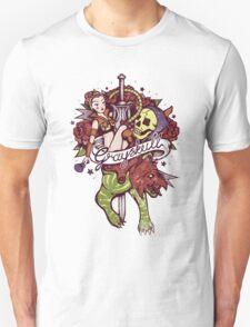 He Man's Ruin. Unisex T-Shirt