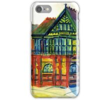 Derby Registry Office iPhone Case/Skin