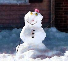 Happy Snowman by Susan Savad