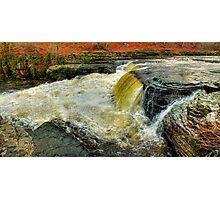 Lower Falls Aysgarth -  Panorama - HDR Photographic Print