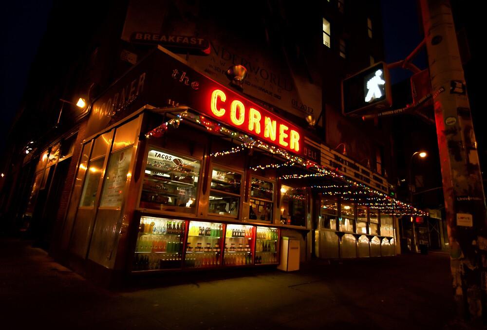 Bright Lights, Big City - Soho - New York City by Vivienne Gucwa