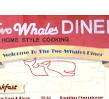Two Whales Diner Menu - Life is Strange by ziggylou