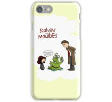 Scalvin and Maulbes iPhone Case/Skin