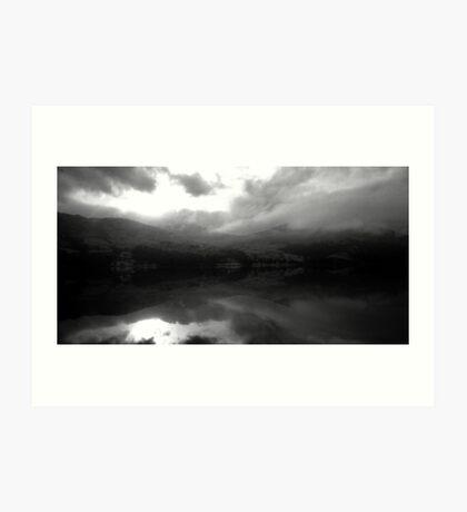 Ben Vorlich Across Loch Earn Art Print