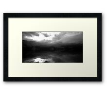 Ben Vorlich Across Loch Earn Framed Print