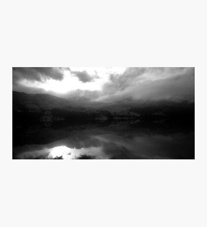 Ben Vorlich Across Loch Earn Photographic Print
