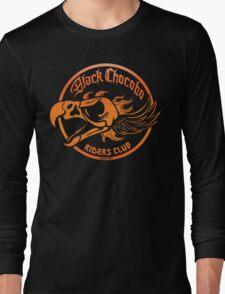 Black Chocobo Riders Club Long Sleeve T-Shirt