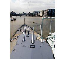 HMS Belfast  Photographic Print