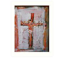 Crucifixion 2009 Art Print