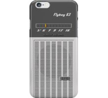 Transistor Radio - Flyboy Gray iPhone Case/Skin