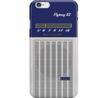 Transistor Radio - Flyboy Blue iPhone Case/Skin