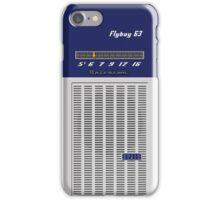 Transistor Radio - Flyboy Blue iPhone Case/Skin