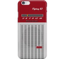 Transistor Radio - Flyboy Red iPhone Case/Skin