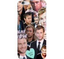 Chris Hemsworth/Thor Collage iPhone Case/Skin