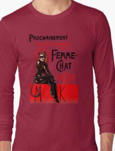 La Femme-Chat, Part Deux Long Sleeve T-Shirt