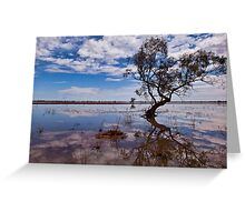 Beauty of the Outback - Wilcannia, NSW Greeting Card