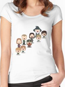 The Fellowship of the Ring Women's Fitted Scoop T-Shirt