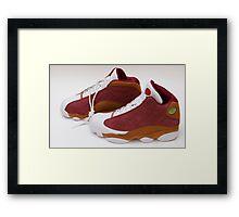 Jordan Retro 13 Premio Bin 23 Framed Print