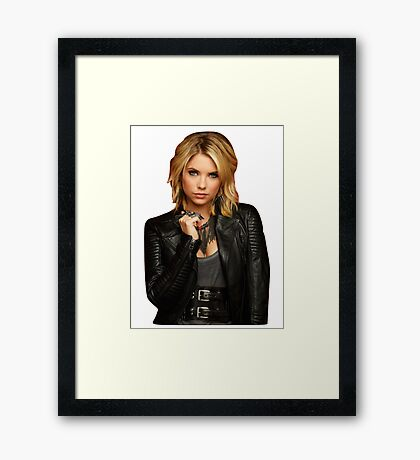 Hanna Marin/ Ashley Benson Framed Print