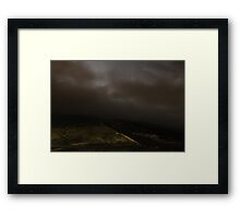 Towards Burnt Hill from Chunal Framed Print