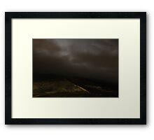 Towards Burnt Hill from Chunal Framed Print