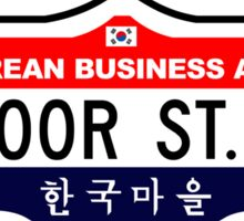 Bloor Street, Toronto Street Sign, Canada Sticker