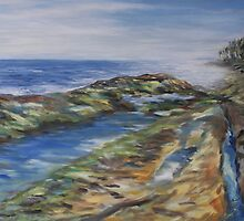 Reaching The Sea by TerrillWelch