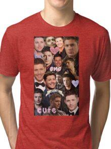 Dean Winchester/Jensen Ackles Collage Tri-blend T-Shirt