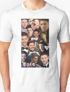 Dean Winchester/Jensen Ackles Collage T-Shirt