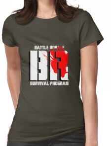 Battle Royale Logo Womens Fitted T-Shirt