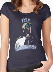 Proof of Horribleness Women's Fitted Scoop T-Shirt