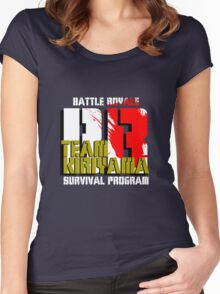 Team Kiriyama (Battle Royale) Women's Fitted Scoop T-Shirt