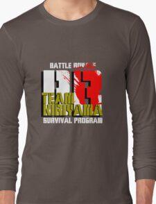 Team Kiriyama (Battle Royale) Long Sleeve T-Shirt