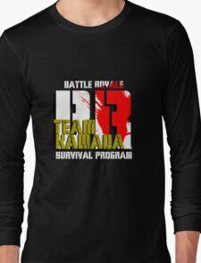 Team Kawada (Battle Royale) Long Sleeve T-Shirt