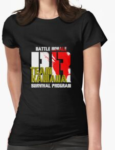 Team Kawada (Battle Royale) Womens Fitted T-Shirt