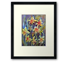 """Fluttering and dancing in the breeze"" Framed Print"