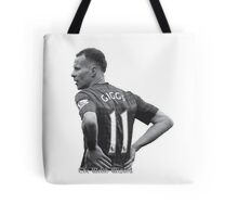 The Welsh Wizard Ryan Giggs Tote Bag