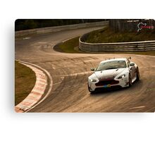 Aston Marting GT3 Nurburgring Canvas Print