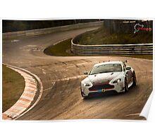 Aston Marting GT3 Nurburgring Poster