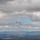 F/A -18 approaching Mt Ainslie 2 by peterhau