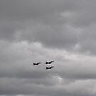 F/A -18 passing Mt Ainslie by peterhau