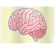 pinky brain Poster