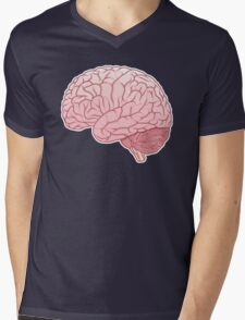 pinky brain Mens V-Neck T-Shirt