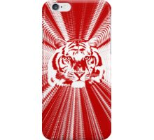 Tiger - Red Radiance iPhone Case/Skin