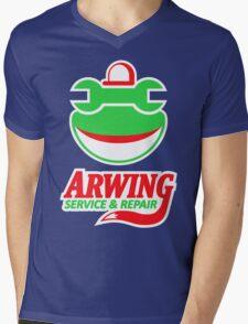 ARWING SERVICE & REPAIR Mens V-Neck T-Shirt