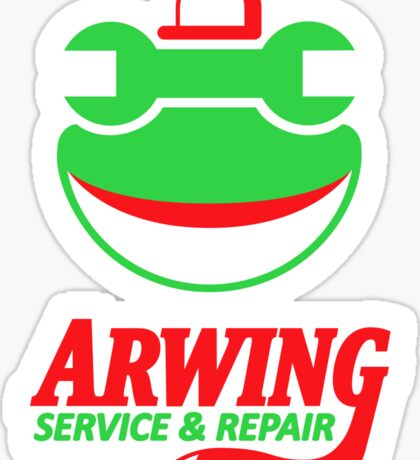 ARWING SERVICE & REPAIR Sticker