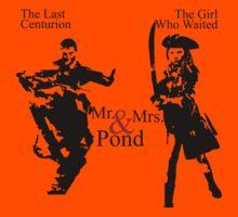 Mr. & Mrs. Pond - Doctor Who Kids Tee