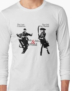 Mr. & Mrs. Pond - Doctor Who Long Sleeve T-Shirt