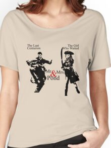 Mr. & Mrs. Pond - Doctor Who Women's Relaxed Fit T-Shirt