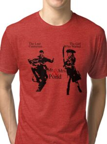 Mr. & Mrs. Pond - Doctor Who Tri-blend T-Shirt